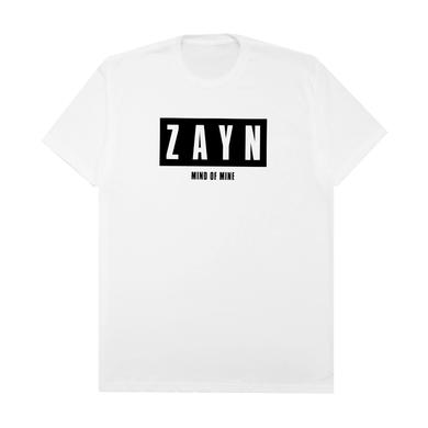 Zayn Mind Of Mine White Tee