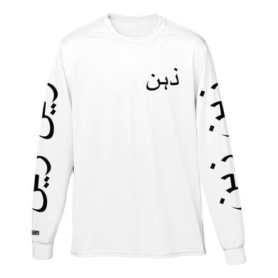 Zayn Urdu White Long Sleeve Tee