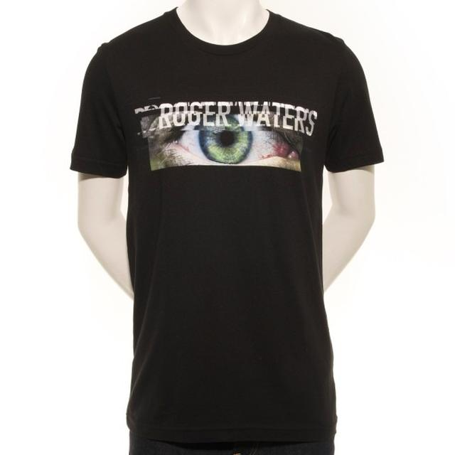 Roger Waters Men's Death Eye Strip T-Shirt