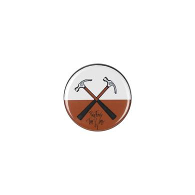 Roger Waters Crossed Hammers Button