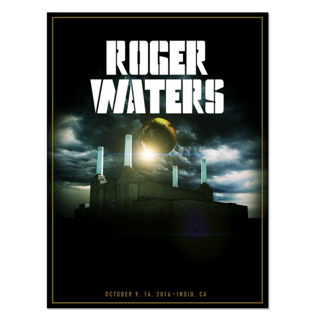 Roger Waters PRE-ORDER:  PowerStation Lithograph