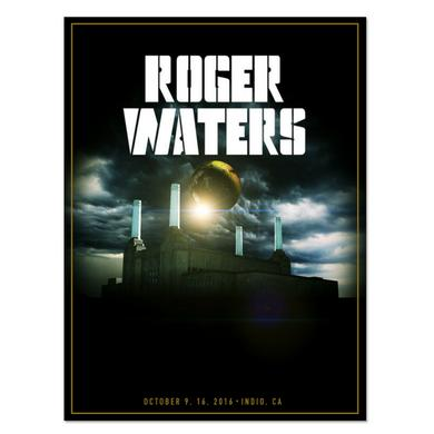 Roger Waters PowerStation Lithograph