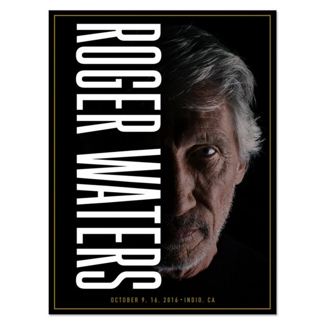 Roger Waters PRE-ORDER:  Roger Half Shadow Lithograph