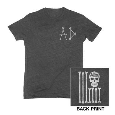 Avril Lavigne Charcoal Heather Skull Tee