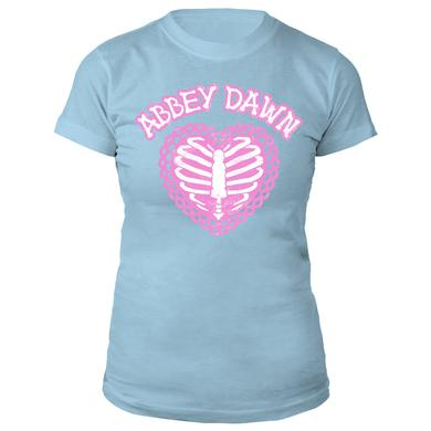 Avril Lavigne Pale Caged Heart Tee