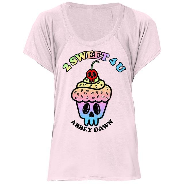 Avril Lavigne Blush Cupcake Raglan Tee