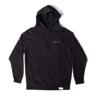 Jimi Hendrix Diamond Supply Co. Purple Haze Hoodie in Black