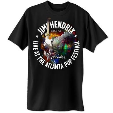 Jimi Hendrix Atlanta Pop Cosmic T-Shirt