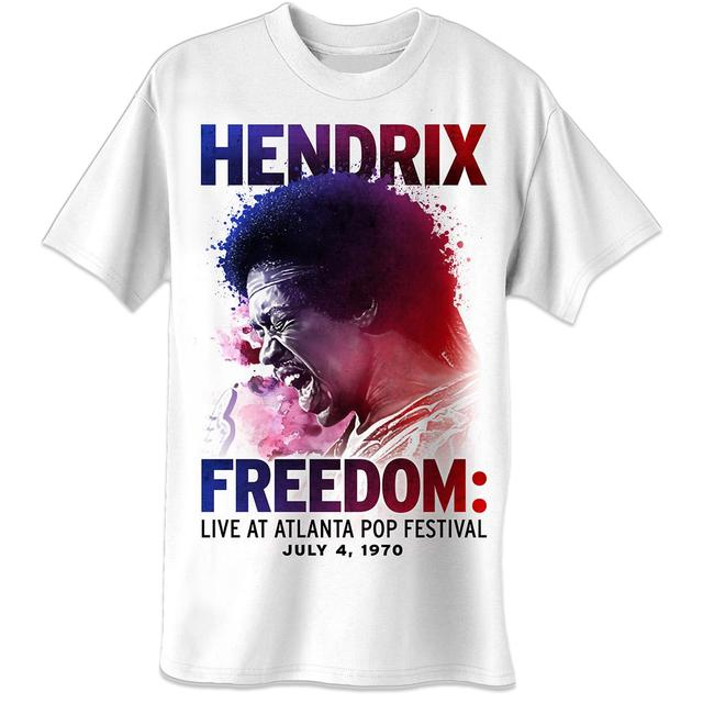 Jimi Hendrix Atlanta Pop Splatters T-Shirt