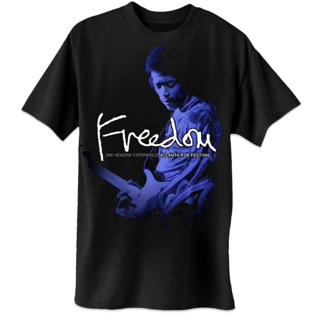 Jimi Hendrix Atlanta Pop Guitar T-Shirt