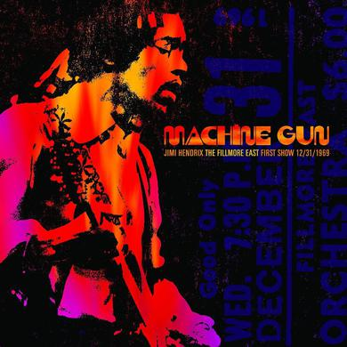 Machine Gun: Jimi Hendrix, The Fillmore East First Show LP (Vinyl)