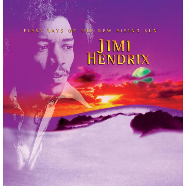 Jimi Hendrix First Rays Of The New Rising Sun Magnet