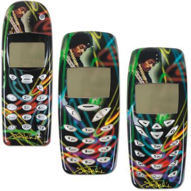 Jimi Hendrix Cell Phone Cover