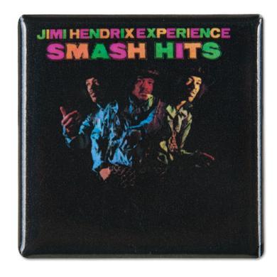Jimi Hendrix Square Button Smash Hits