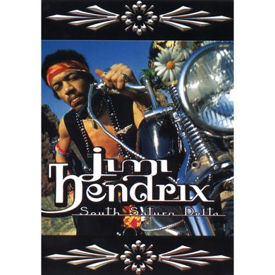 Jimi Hendrix South Saturn Delta Postcard