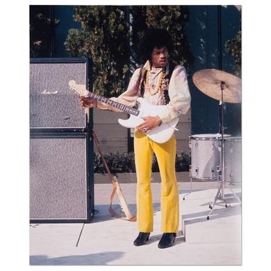 Jimi Hendrix Photo No. 2  Hollywood Bowl 67