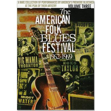 Jimi Hendrix American Folk Blues Festival 1962-1969 Vol. 3 DVD