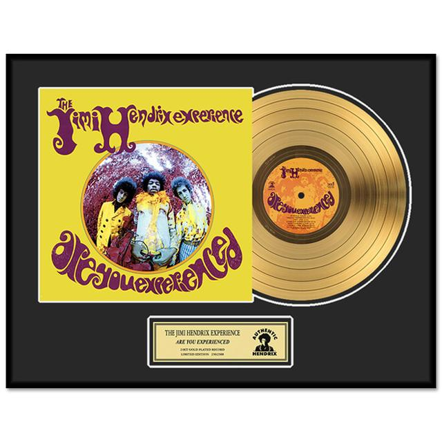 Jimi Hendrix – Are You Experienced Framed Gold Record