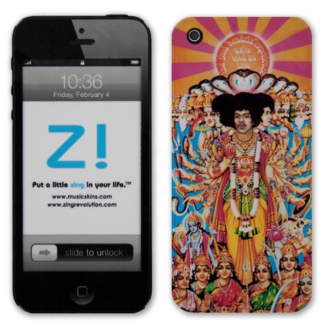 Jimi Hendrix Axis Bold As Love iPhone 5 Skin