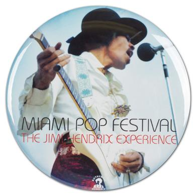 Jimi Hendrix: Miami Pop Festival Button