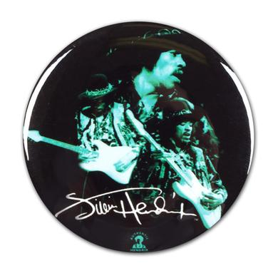 Jimi Hendrix: Shrine Auditorium 1968 Signature Button