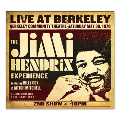 Jimi Hendrix Experience: Live At Berkeley CD