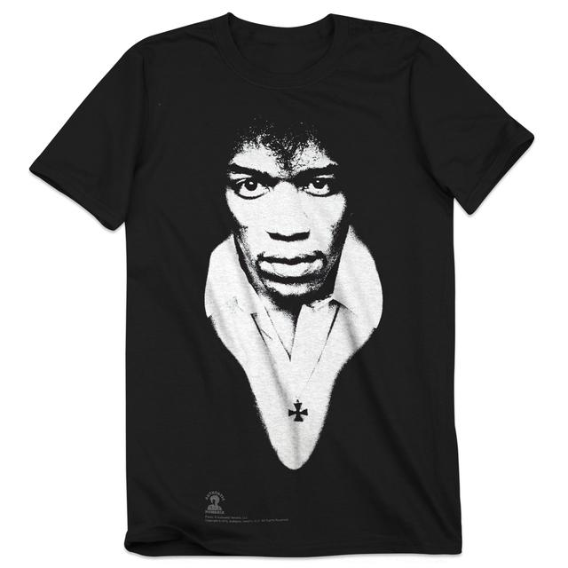 Jimi Hendrix Experience Hendrix 2016 Tour Monotone Tee