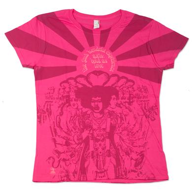 Jimi Hendrix Axis Bold As Love Ladies Tee