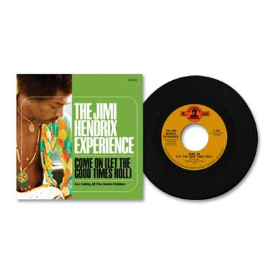 "Jimi Hendrix - Come On (Let the Good Times Roll) 7"" Vinyl Single"