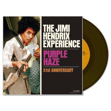 Jimi Hendrix Experience: Purple Haze 51st Anniversary 7 inch LP (Vinyl)