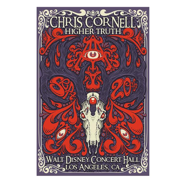 Chris Cornell Event Poster Los Angeles