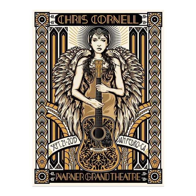 Chris Cornell Event Poster San Pedro