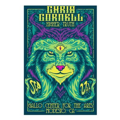 Chris Cornell Event Poster Modesto