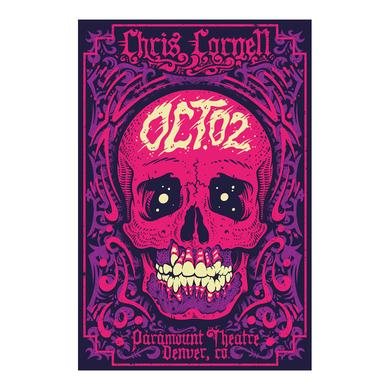 Chris Cornell Event Poster Denver