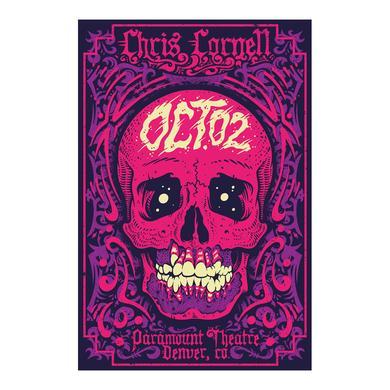 Chris Cornell Event Poster Denver