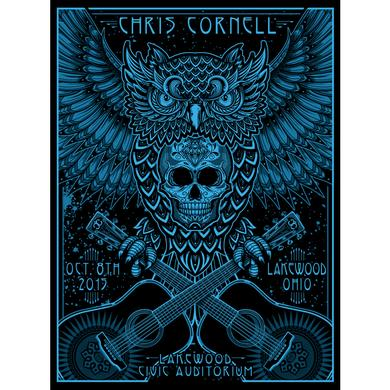 Chris Cornell Event Poster Lakewood