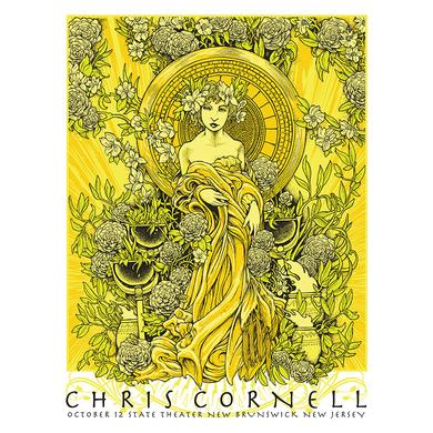 Chris Cornell Event Poster New Brunswick