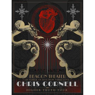 Chris Cornell Event Poster New York Day 1