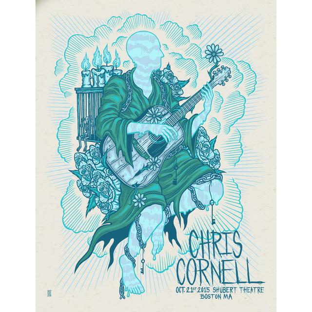 Chris Cornell Event Poster Boston