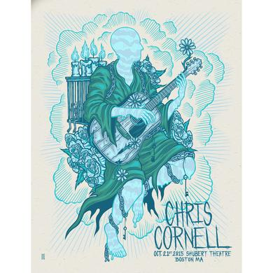 Chris Cornell Event Poster Boston