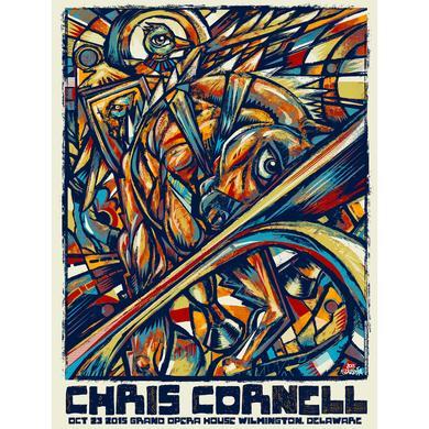 Chris Cornell Event Poster Wilmington
