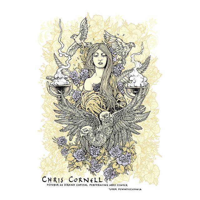 Chris Cornell Event Poster York