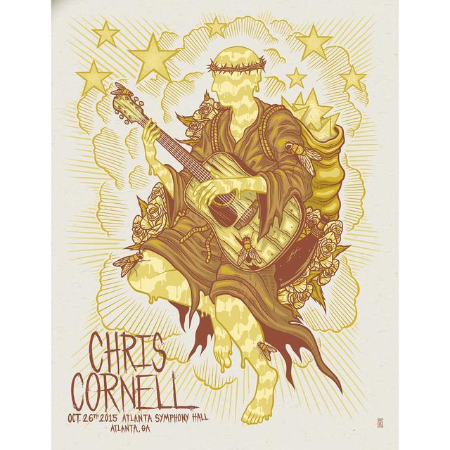 Chris Cornell Event Poster Atlanta