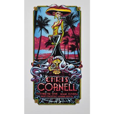 Chris Cornell Event Poster Miami