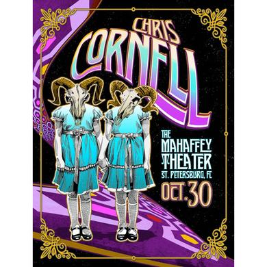 Chris Cornell Event Poster St. Pete