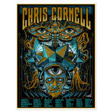 Chris Cornell 2016 Tour Poster