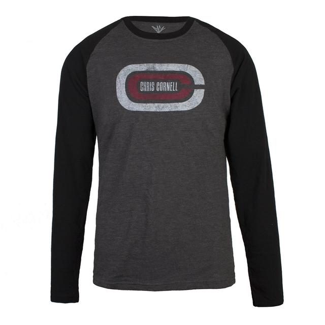 Chris Cornell Logo Raglan