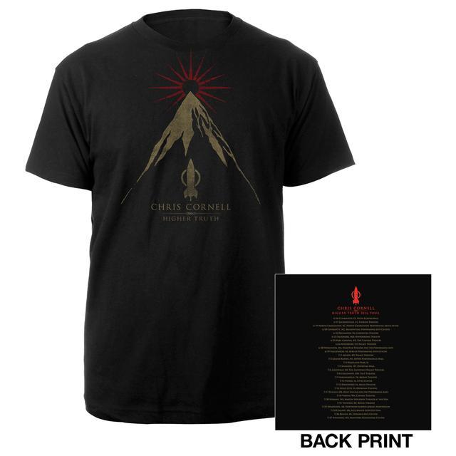 Chris Cornell Higher Truth US Summer 2016 Itin T-shirt