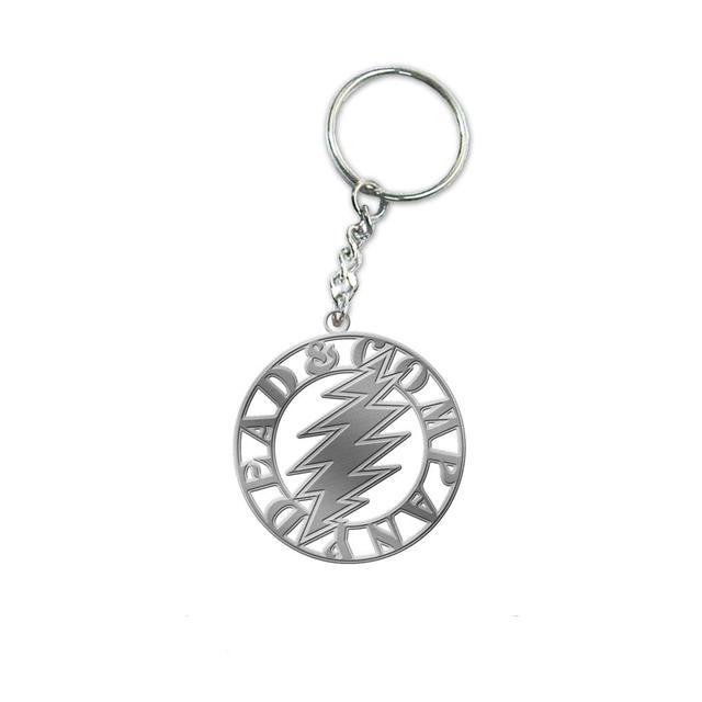 Grateful Dead Metal Keychain