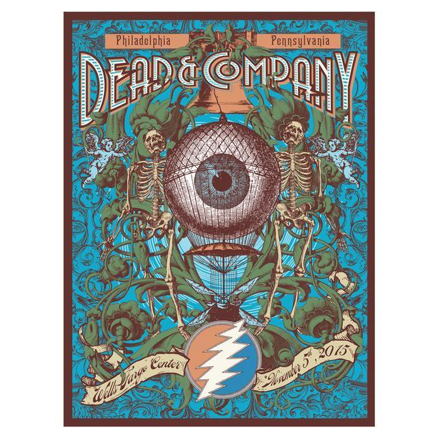 Grateful Dead Philadelphia Pennsylvania Exclusive Event Poster